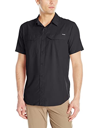 Amazon.com : Columbia Men's Silver Ridge Lite Short Sleeve Shirt ...