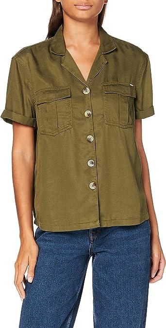 Superdry Kaya Military Shirt Blusa para Mujer: Amazon.es: Ropa y accesorios