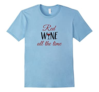 Chaser Red Wine Time - White Top - Long Sleeve Top - Graphic Top ...