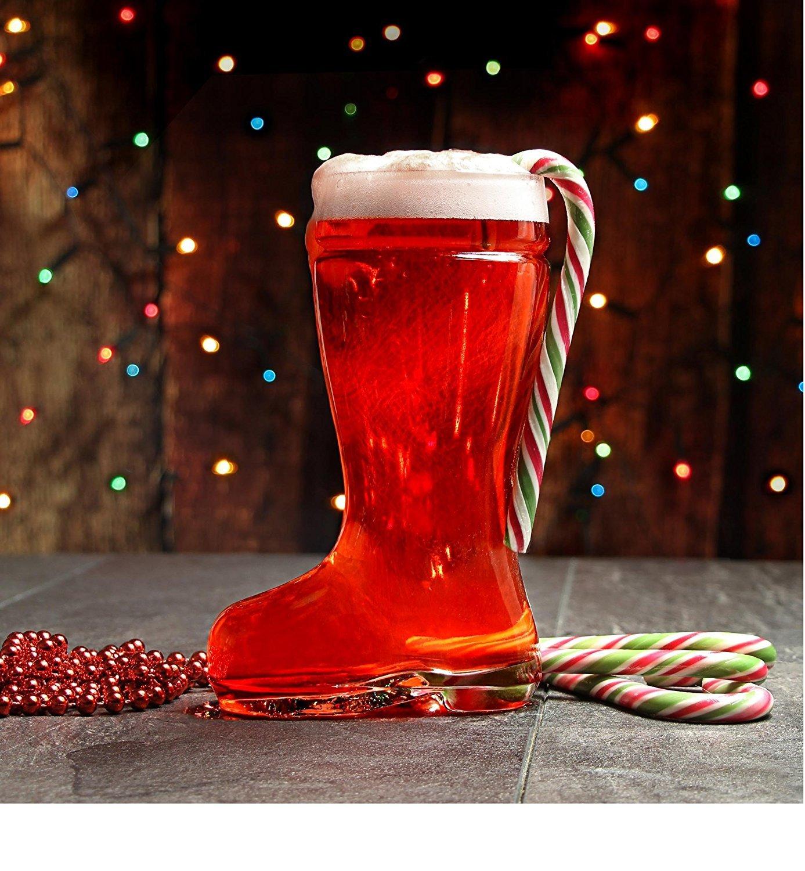 Beer Glasses by Circleware Das Boot Beer Mugs (1 Liter) 34 Oz - 4 pk Value pack …