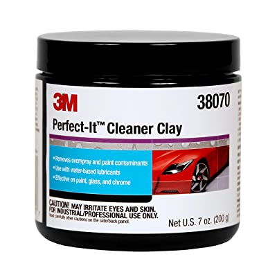 3M Perfect-It Cleaner Clay, 38070, 200 g, 1 bar per bottle: Automotive