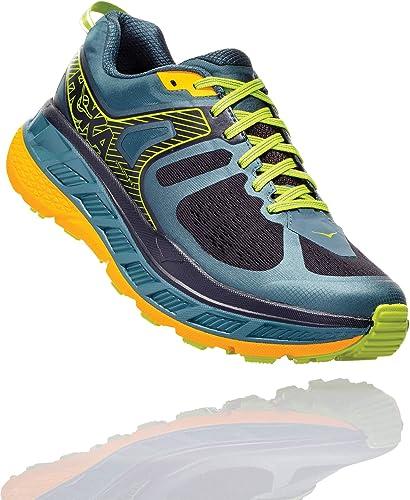 Hoka Stinson ATR 5, Zapatillas de Trail-Running por Hombre, Gris (MallardGreen/GoldFusion), 49 1/3 EU: Amazon.es: Zapatos y complementos