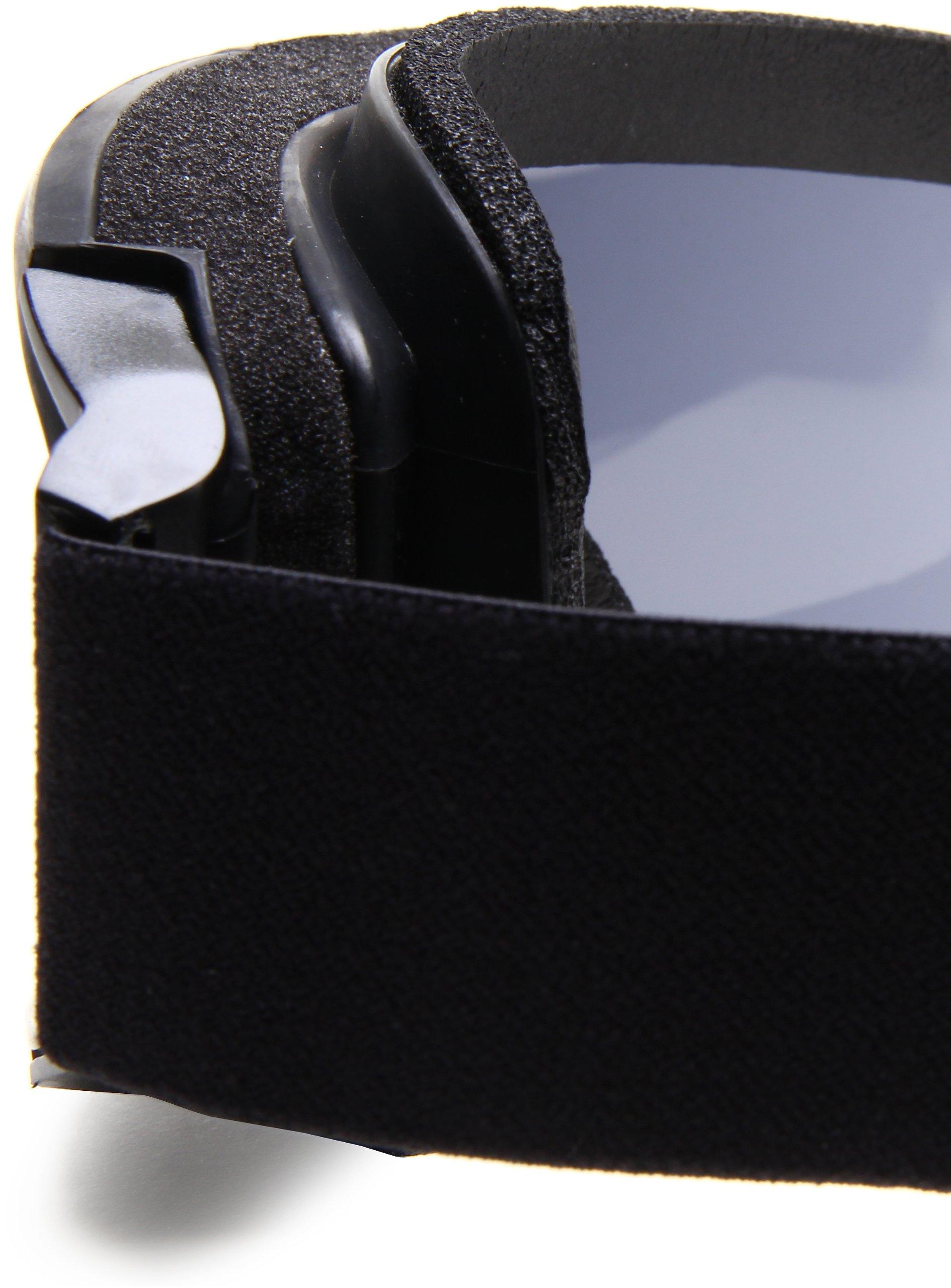 Bobster Alpha Ballistics Goggles, Black Frame/Smoke & Clear Lenses by Bobster Eyewear (Image #4)
