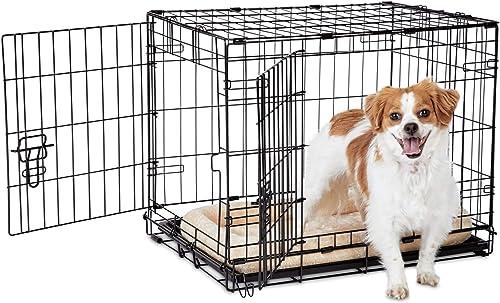 Animaze 2-Door Folding Dog Crate
