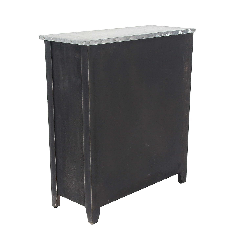 Black Deco 79 45894 Wine Cabinet