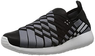 famosa marca de diseñador venta más caliente venta oficial Nike Roshe Run Woven 2.0 - Black / Light Base Grey-cool Grey ...