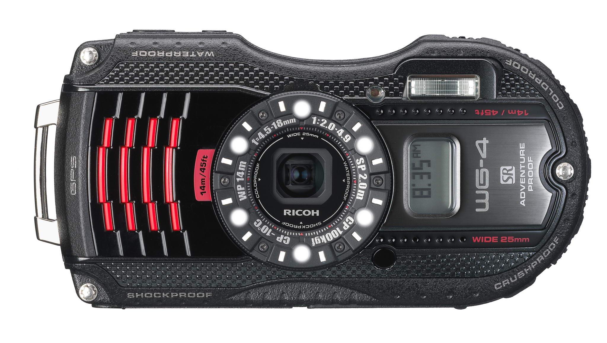 WG-4 GPS - Digital camera - black (International Model)