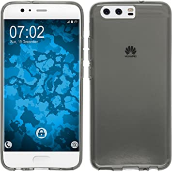 info for bf2f3 01135 PhoneNatic Silicone Case for Huawei P10 transparent gray - Cover +  protective foils