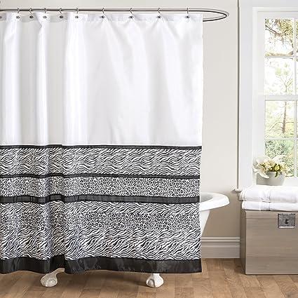 Lush Decor Tribal Dance Shower Curtain 72quot X