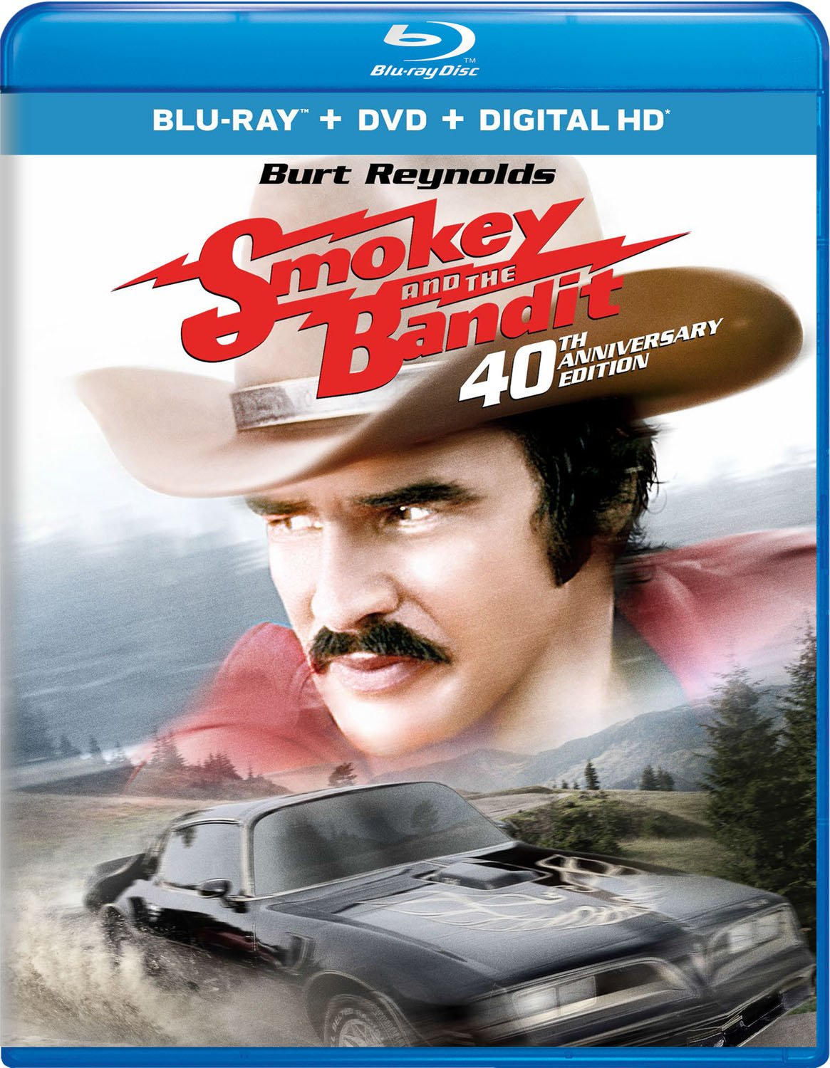 Blu-ray : Smokey and the Bandit (40th Anniversary Edition) (With DVD, Ultraviolet Digital Copy, Anniversary Edition, 2 Pack, Digitally Mastered in HD)