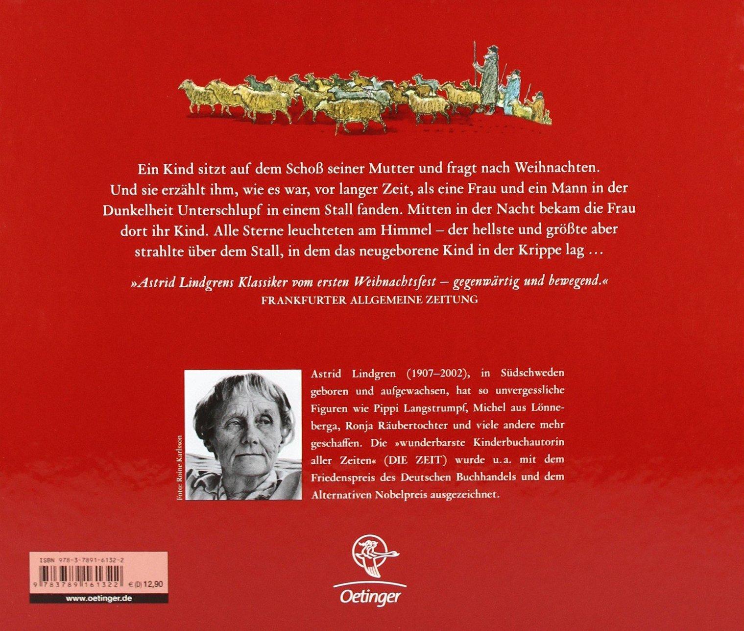 Weihnachten im Stall: Amazon.de: Astrid Lindgren, Harald Wiberg ...