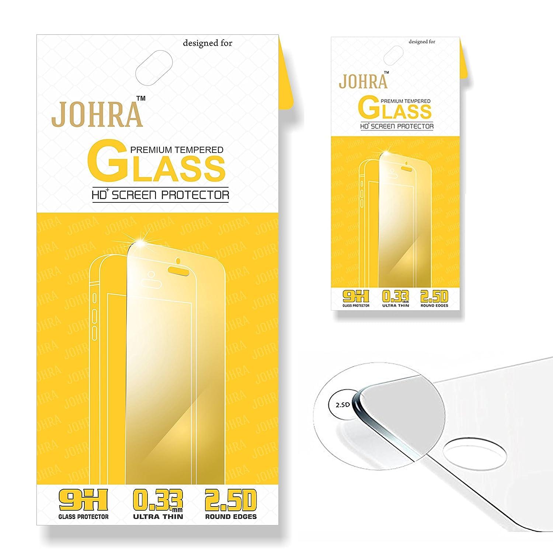 Johra For Asus Zenfone 3 Laser Zc551kl 25d 9h Hd Premium Tempered Glass Full Cover Zuk 2 Pack Of Electronics