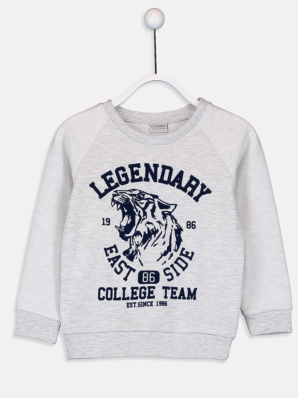 LC WAIKI T-Shirt /à Manches Longues pour gar/çon