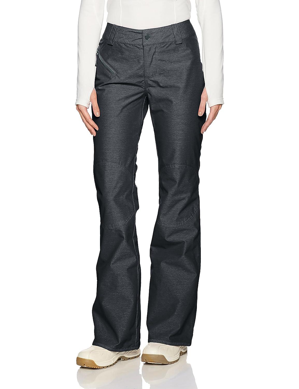 Black Volcom Womens Pinto 2 Layer Shell Snow Pant Snow Pants