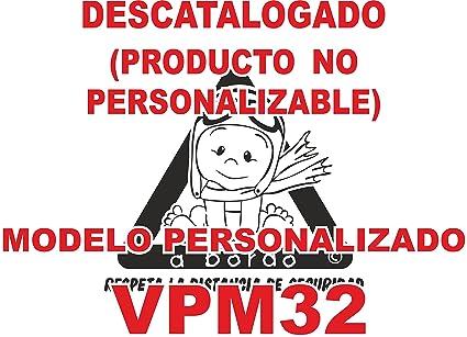 Adhesivo personalizado Bebé a bordo VPC32. DISEÑO EXCLUSIVO. VENDIDO Y ENVIADO POR VPM ORIGINAL. PRODUCTO Y EMPRESA 100% DE ESPAÑA. NO COMPRAR AL ...