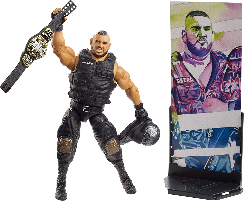 WWE Elite Collection Series # 62 Author of Pain Rezar Action Figure