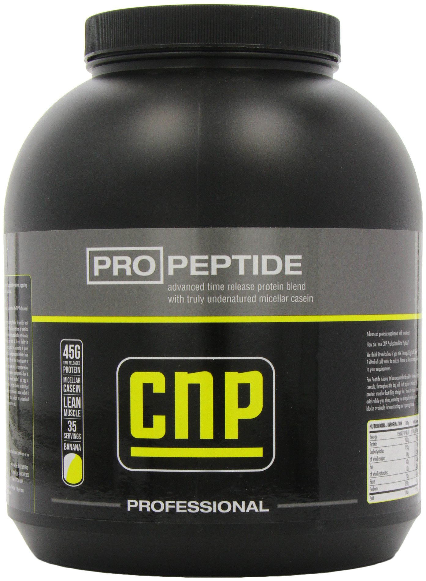 CNP Pro Peptide Banana Advanced Protein Powder Supplement 2.27 kg