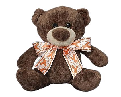 b16a2e7222c Amazon.com  Fundraising For A Cause Orange Ribbon Teddy Bears ...