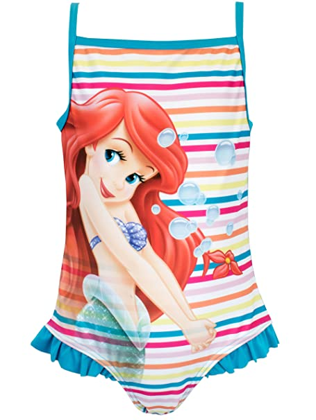 7c86462a5eb Amazon.com: Disney Girls The Little Mermaid Ariel Swimsuit: Clothing