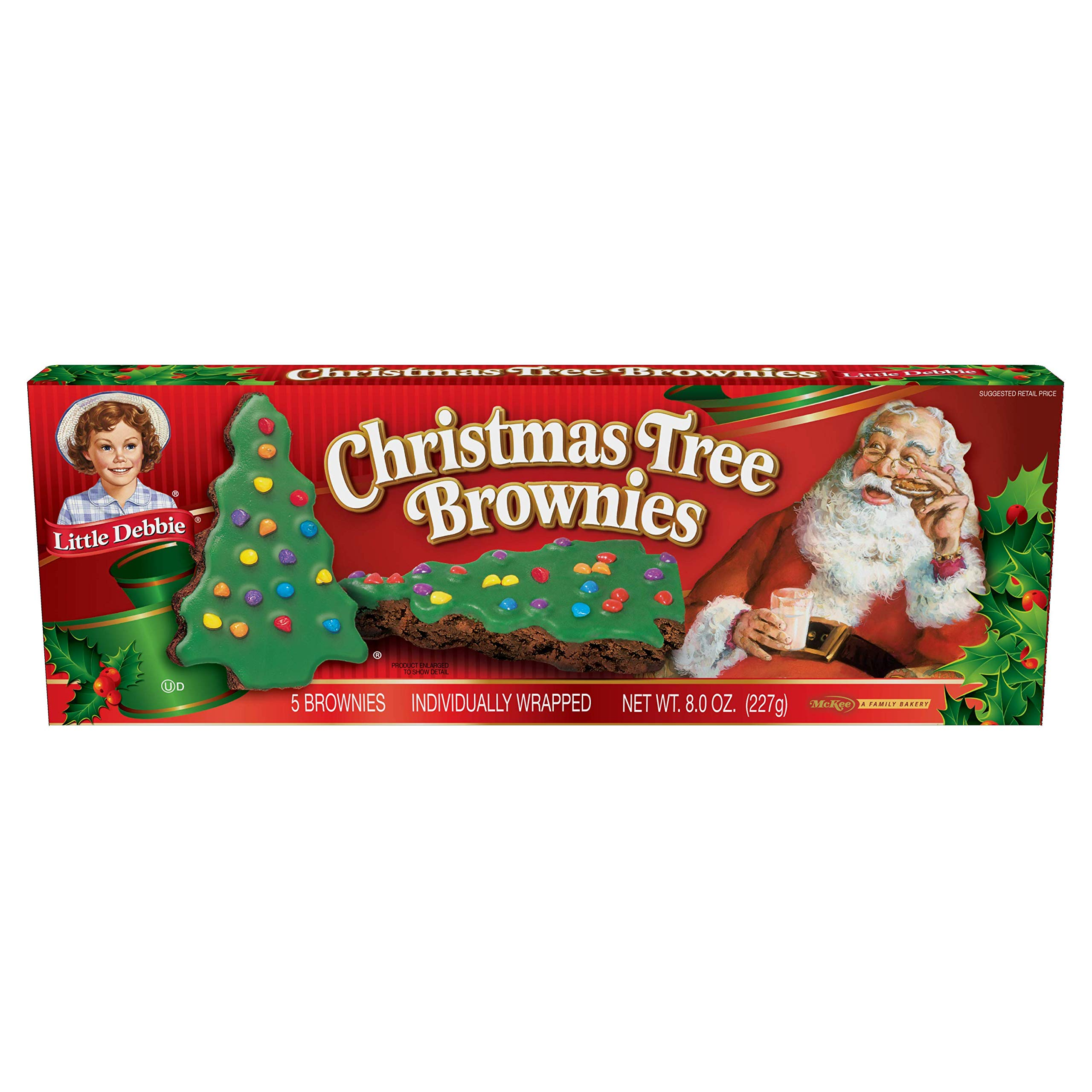 Little Debbie Christmas Tree Cakes Chocolate 3 Boxes 15 Cakes