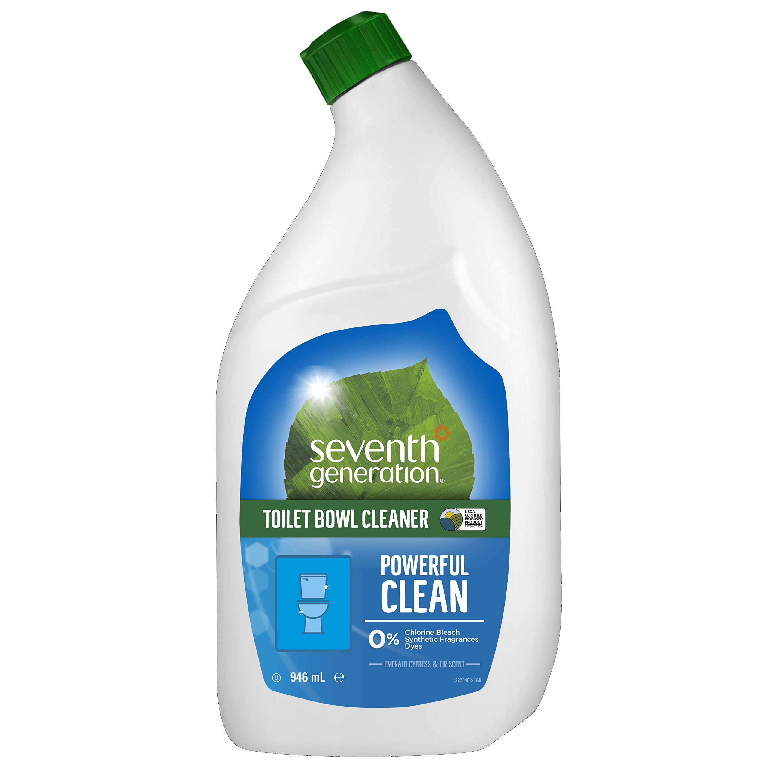 Seventh Generation  Emerald Cypress and Fir Scent Toilet Bowl Cleaner 32 oz, 8-Pack by Seventh Generation