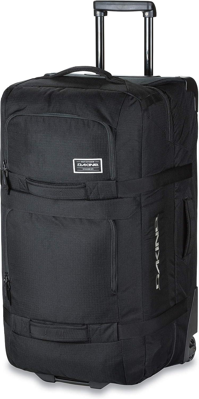 Dakine Split Roller, Bolsa de viaje trolley para portátil Unisex Adulto, Black, 85 L