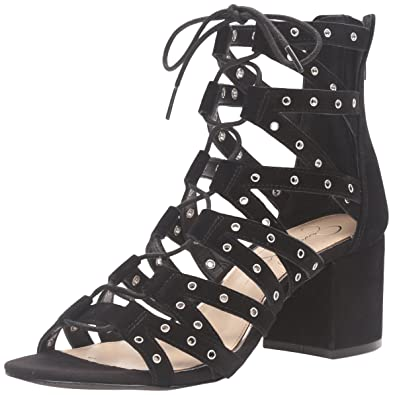 0eaf0752ee42 Jessica Simpson Women s Haize Dress Sandal Black 5.5 ...