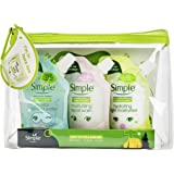 Simple Safe Travels Gift Set, Variety Pack Present For Men, Women, Teenagers And Kids, Skin Care And Moisturisation Kit…