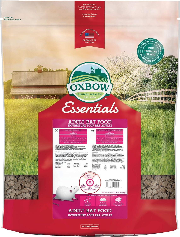 Oxbow Essentials Adult Rat Food - All Natural Adult Rat Food