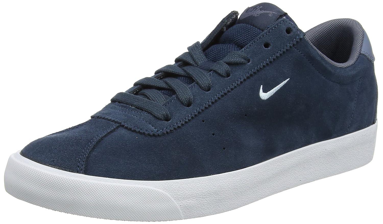Nike Herren Match Classic Suede Sneaker  40 EU|Blau (Armory Navy/Light Armory Blue-armory Blue)