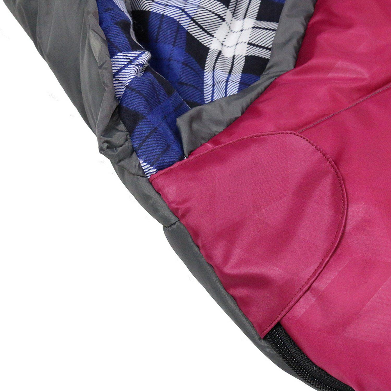 Unibest Kinderschlafsack Mumienschlafsack Baumwolle Innen 3 Farben