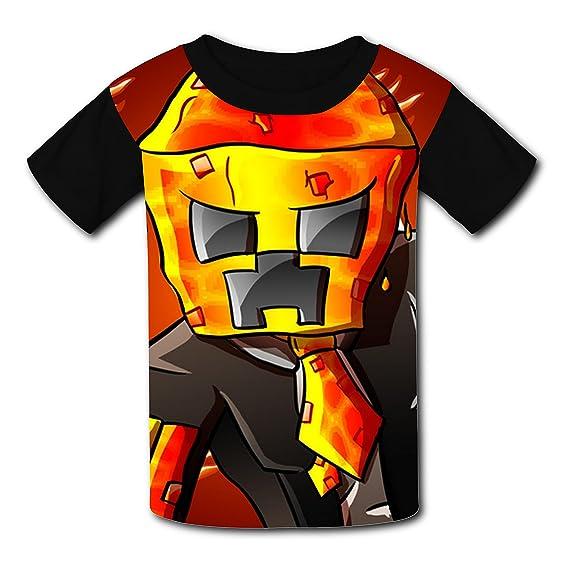 Popular Amazon.com: Fire Preston-playz Kids Graphic Short Sleeve T-shirts  ST18