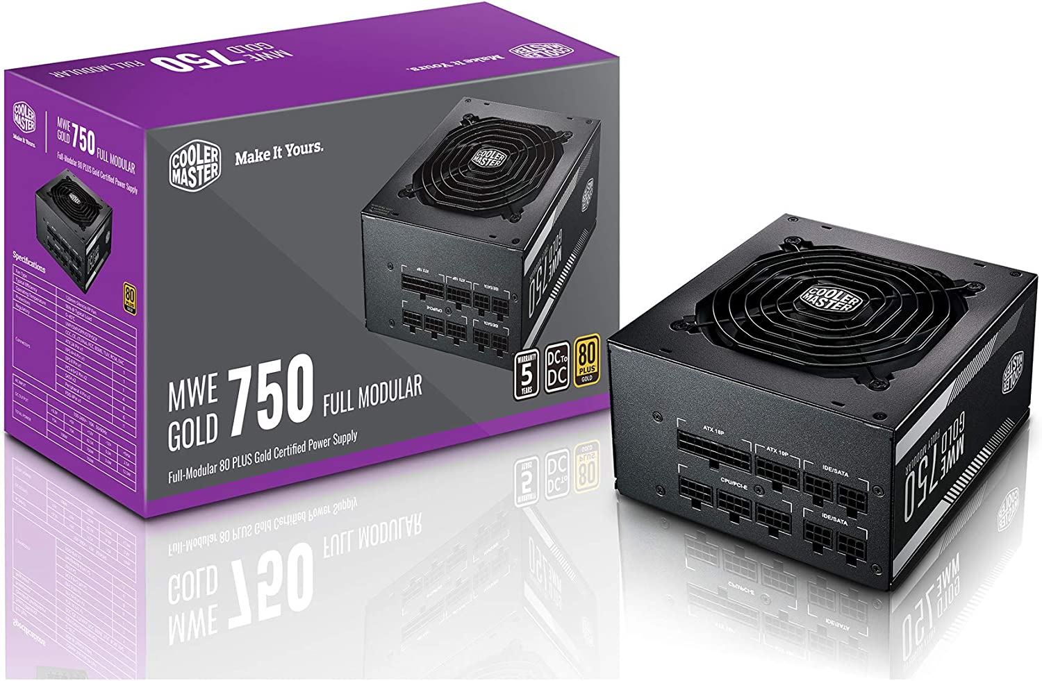 COOLER MASTER MWE GOLD 650