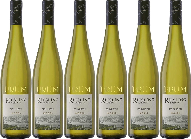 R.Prüm Riesling Kabinett Weißwein feinherb (6 x 0.75 l): Amazon.de ...