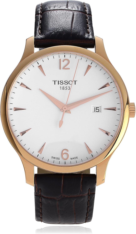 T063.610.36.037.00 - Reloj de pulsera para hombre (piel)