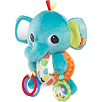 Bright Starts Car Seat and Stroller Explore & Cuddle Elephant