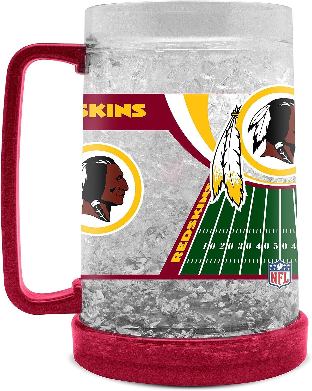 Washington Redskins Crystal Freezer Mug