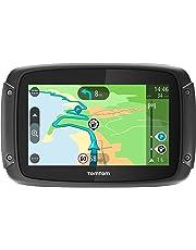 """TomTom Rider 420 Navigatore, Europa e Russia, 10,9 cm (4,3""""), 480 x 272 pixel, Flash, Micro SD, Nero"""