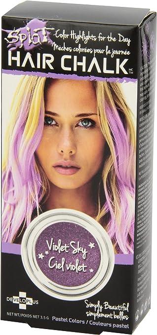 Tinte para cabello Splat tizas, color morado