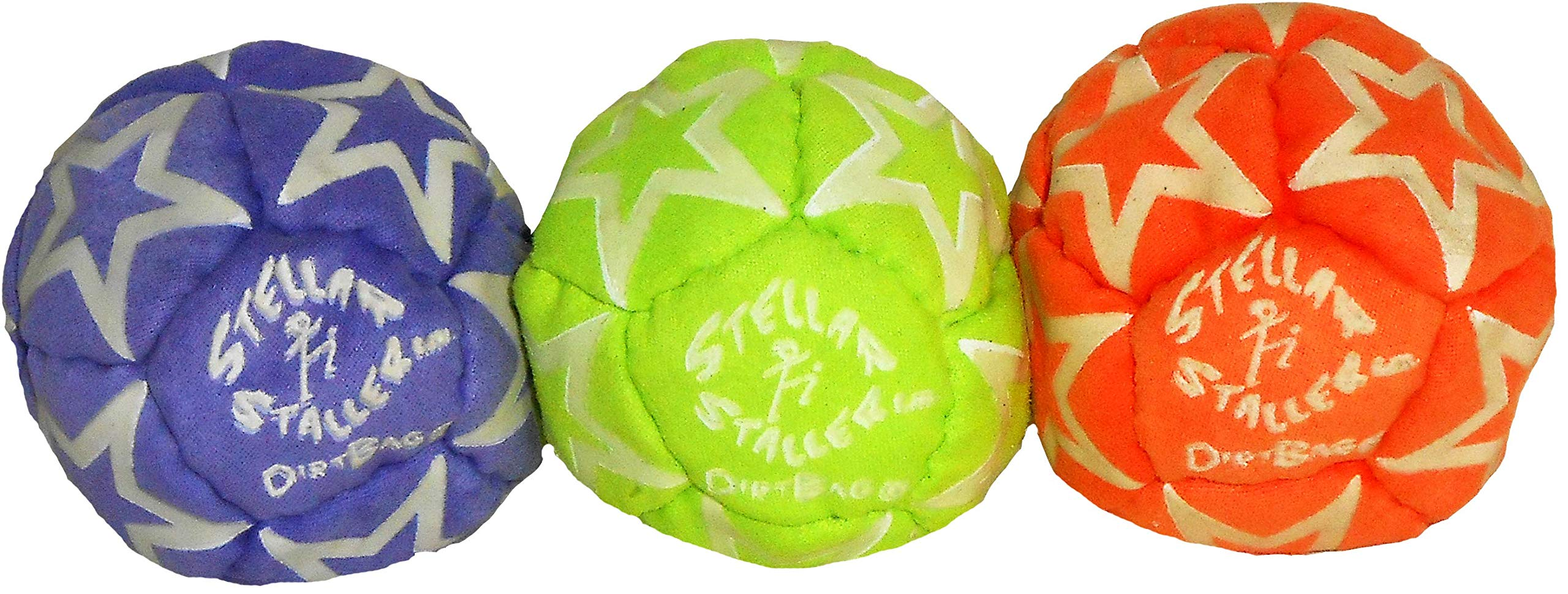 Stellar Staller Glow-in-the-Dark Footbag 3-Pack