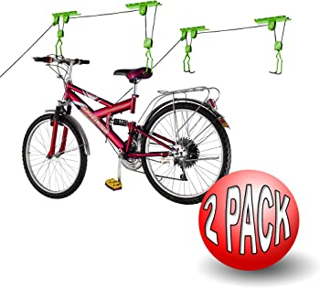 Bike Lane Hoist Bike Storage