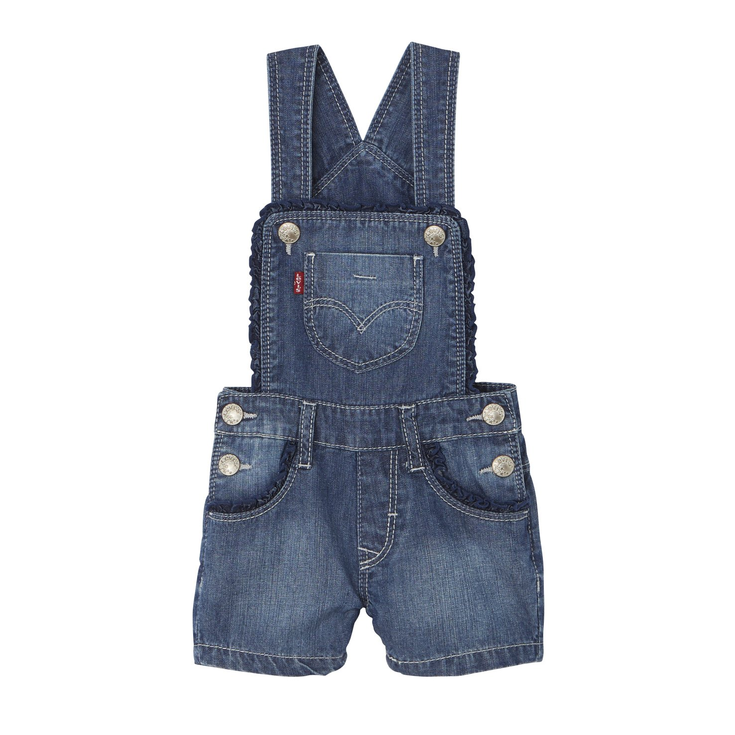 Levi's Baby Girls' Nj21504 Dungarees (Sodalite Blue) 12-18 Months Levi's