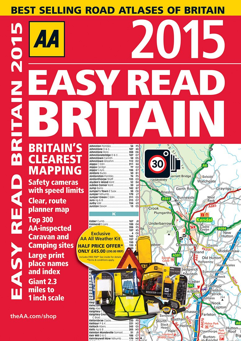 Read Online Easy Read Britain 2015 (Aa Easy Read) PDF
