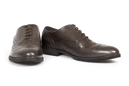 hot sale online 2def7 610a3 VILEANO Herren Business-Schuhe Budapester Lederschuhe Anzugschuhe Schuhe,  aus edlem Leder