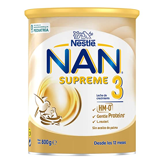 NAN Supreme 3, Leche de crecimiento para bebé - 800 gr.