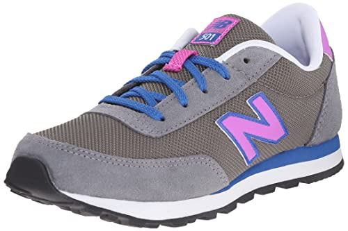 Nouvel Équilibre 410, Zapatillas Unisexe Bebé, Multicolore (noir / Bleu), 32,5 Eu
