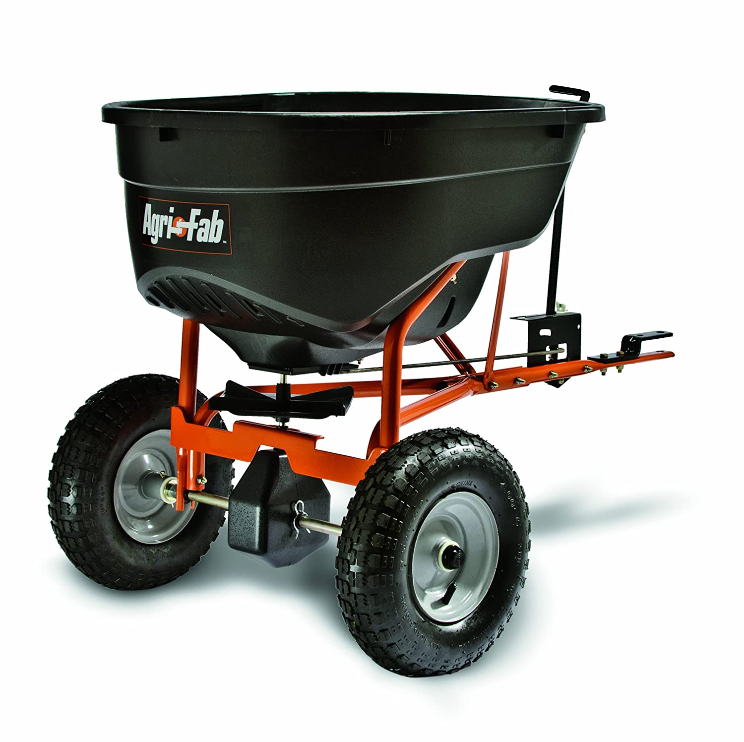 Agri-Fab 45-0463 130-Pound Tow Behind lawn feed Broadcast Spreader