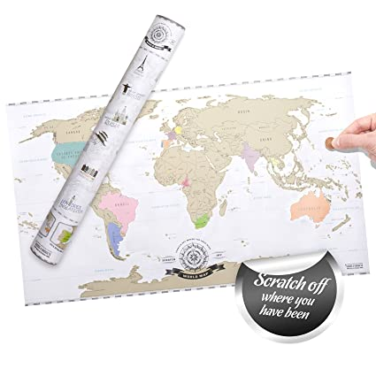 Scratch off world map xxl mapa del mundo para rascar viajeros scratch off world map xxl mapa del mundo para rascar viajeros personalizado pster gumiabroncs Image collections