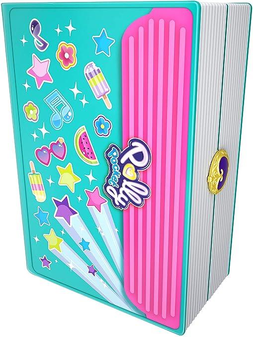 Mattel Polly Pocket-Cofre Vamos al Cole, muñeca con Accesorios, Juguete +4