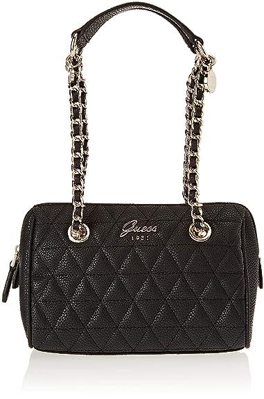 0ded53385f Guess Fleur, Sacs portés épaule femme, Noir (Black/Bla), 20x8.5x13 cm (W x  H L): Amazon.fr: Chaussures et Sacs